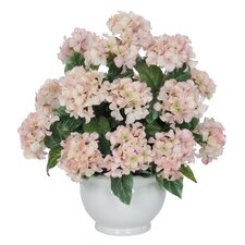 Artificial Hydrangea in Vase