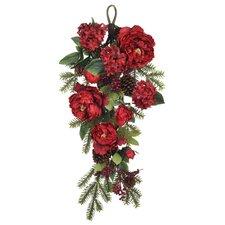 Artificial Peony / Hydrangea / Berry / Pine Teardrop