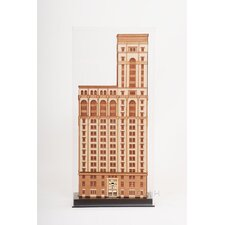 Old New York Time Building Sculpture