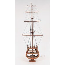 USS Constitution Cross Section Model Boat