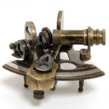 Nautical Small Sextant Sculpture