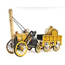 Decorative 1829 Stephenson Rocket Steam Locomotive