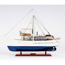 Dickie Walker Model Boat