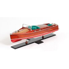<strong>Old Modern Handicrafts</strong> Chris Craft Painted Model Boat