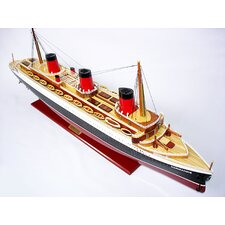 Normandie Painted Model Ship