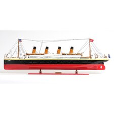 X-Large Titanic Painted Model Boat