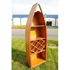 <strong>Old Modern Handicrafts</strong> Canoe 7 Bottle Wine Rack
