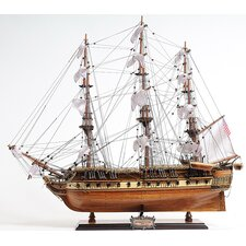 Medium USS Constitution Model Boat
