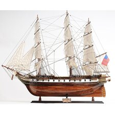 USS Constellation Model Boat