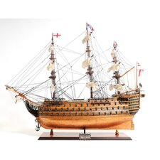 HMS Victory Bottom Model Ship