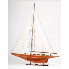 Large Shamrock Model Boat