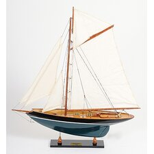 Penduick Painted Model Boat