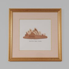 Sydney Australia Opera House Framed Graphic Art