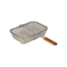 Stainless Wire Mesh Shaker Basket with Lid