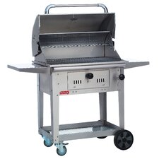 Bison Charcoal Grill with Cart