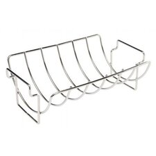 <strong>Bull Outdoor Products</strong> Stainless Reversible Roasting / Rib Rack