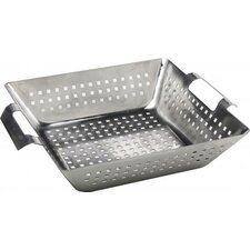 Stainless Steel Square Wok