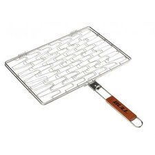 Stainless Rectangle Flexi Grilling Basket