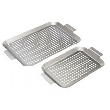 2 Piece Stainless Grid Set