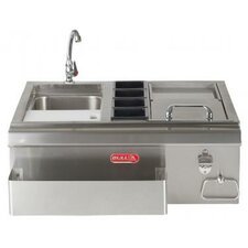 Bar Center with Sink