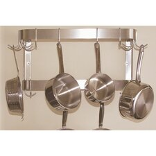 <strong>A-Line by Advance Tabco</strong> Wall Mounted Double Bar Pot Rack