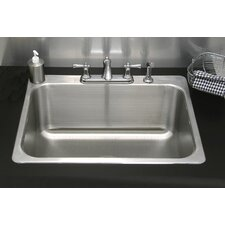 "27"" x 23"" Drop-In Utility Sink"