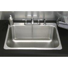 """31"""" x 25"""" Drop-In Utility Sink"""
