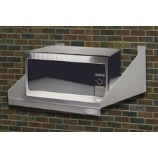 <strong>A-Line by Advance Tabco</strong> Stainless Steel Wall Mounted Microwave Shelf