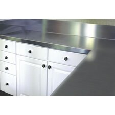 <strong>A-Line by Advance Tabco</strong> Stainless Steel Counter Top with Blacksplash