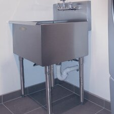 "Freestanding 18"" x 18"" Utility Sink"