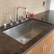 "Trend 20"" x 19"" Single Bowl Undermount Kitchen Sink"