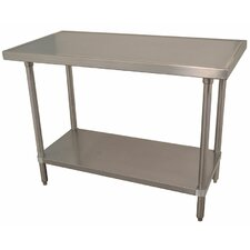 <strong>A-Line by Advance Tabco</strong> Chef's Prep Table with Stainless Steel Top