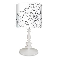 Flower Triptych Table Lamp