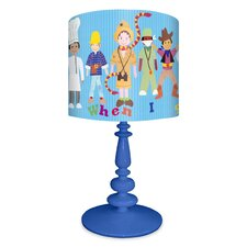 When I Grow Up Boys Table Lamp