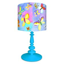 Exotic Butterflies Table Lamp