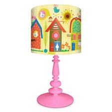 Backyard Birdhouses Table Lamp