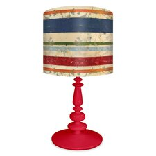 Vintage Stripe Table Lamp