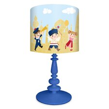 It's a Small World Around the World Kids Table Lamp