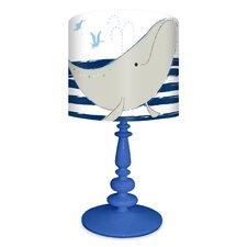 It's a Small World Whale of Tale Table Lamp
