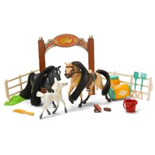 Horse Play Family Champions Horse Set