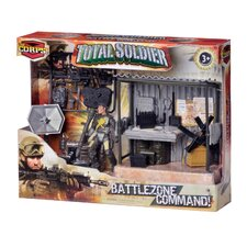 Corps 5 Piece Total Soldier Battle Zone Command Station Set