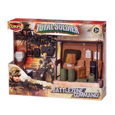 Corps 5 Piece Total Soldier Battle Zone Command Warehouse Set