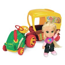 Country Kinz 4-Piece Jane Dear Tractor Set