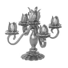 Steel Candlestick Holder