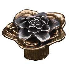 "<strong>Vicenza Designs</strong> Carlotta Double Rose 1.5"" Cabinet Novelty Knob"