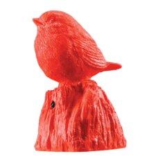 Small Resin Singing Sparrow Figurine