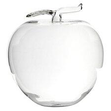 Glass Apple Figurine