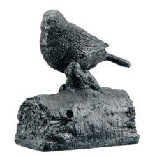 Resin Singing Robin Figurine