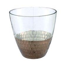 Glass Open Vase