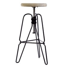 "<strong>DK Living</strong> 25"" Adjustable Bar Stool"